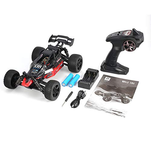 fITtprintse 1/16 2.4G 4WD 36km / h Strong Power Motor Racing RC Auto off-Road Desert Truck Modello Giocattoli per i Bambini Regalo