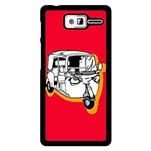 MOBO MONKEY Printed 2D Hard Back Case Cover for Motorola D3 - Premium Quality Ultra Slim & Tough Protective Mobile Phone Case & Cover
