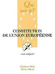 Constitution de l'Union Européenne