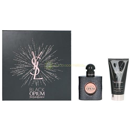 Yves Saint Laurent Black Opium Set mit 30ml + 50ml (Opium Set)