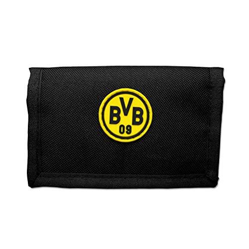 Borussia Dortmund Geldbörse - Logo - schwarzgelb, Portemonnaie, Geldbeutel BVB 09 - Plus Lesezeichen I Love Dortmund