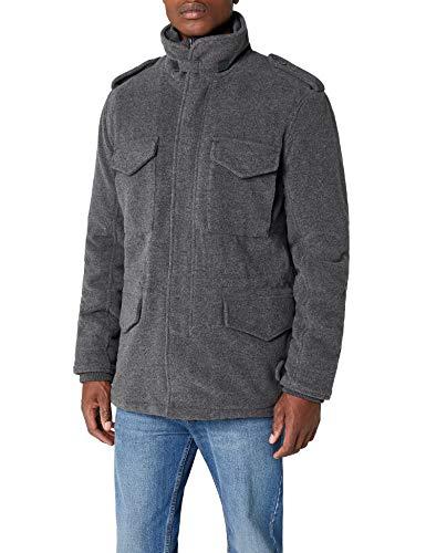 Brandit Herren Jacke M65 Voyager Wool, Grau (Anthrazit 5), Large