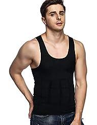 f07b34a3f317af Image Men s Body Shaper For Men - Slimming Shirt Tummy Waist Vest lose  Weight Men s Shaper