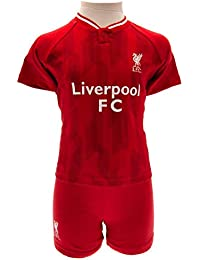 a1788c6a2eb Official Licensed Liverpool Baby Kit T-Shirt   Shorts Set - 2018 19 Season