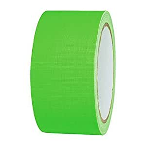 neon gaffa tape klebeband uv aktiv 50mm x 25m gr n baumarkt. Black Bedroom Furniture Sets. Home Design Ideas