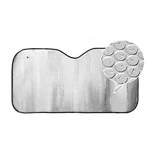 Parasol Coche de Aluminio Acolchado 90 x 150 cm