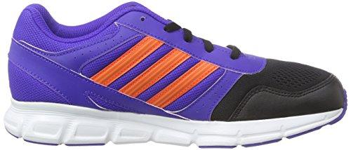 Adidas Hyperfast Sneakers, Unisex Bambino Blu (Night Flash S15/Solar Red/Core Black)