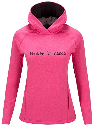 Damen Kapuzenpullover Peak Performance Kate Hoodie Magenta Pink
