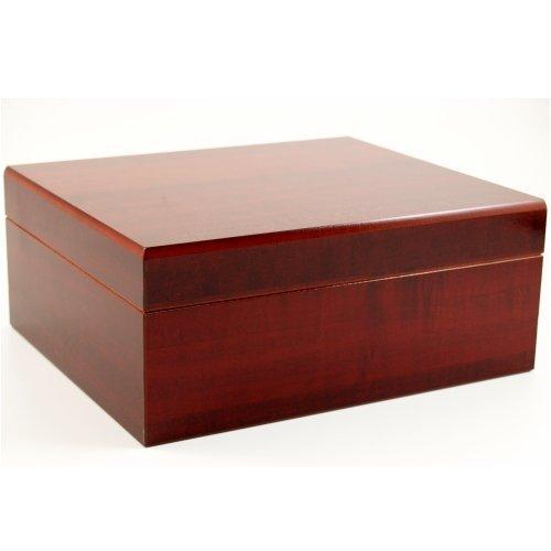 Prestige Import Group - The Executive Cigar Humidor - Color: Cherry by Prestige Import Group - Executive Cherry
