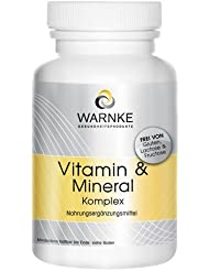 Vitaminas y minerales – complejo – gran dosificación- con 18 principios activos distintos – 250