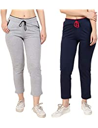 DIAZ Plain Lower and Pajama for Women Combo of 2