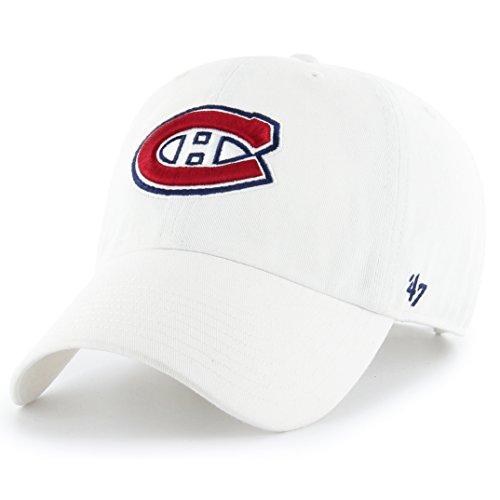 '47 Brand NHL Montreal Canadiens Baseballcap Cap Kappe Basecap clean up (Canadiens Montreal Caps)