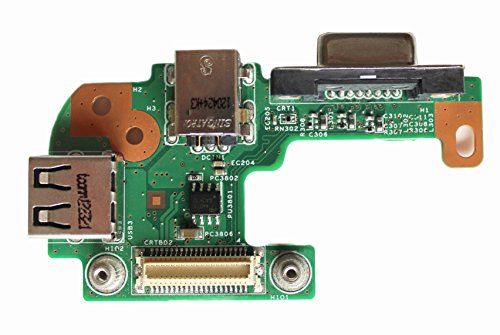 5110) Vostro 3550DC Power Jack/VGA/USB IO Platine-PFYC8 ()