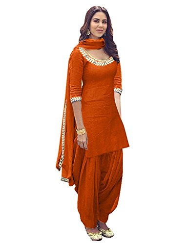 ethnic vila dress materials for women(unstichhed_free size)