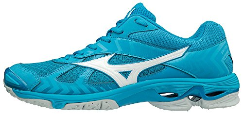 Mizuno Herren Wave Bolt 7 Sneakers, Blau (Bjewel/Wht/Hawaiianocean 001), 46 EU
