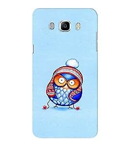 EPICCASE Curious owl Mobile Back Case Cover For Samsung J5 2016 (Designer Case)