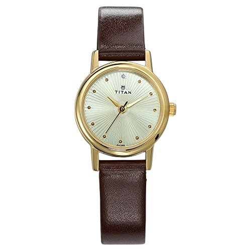 Titan Karishma Revive Analog Champagne Dial Women's Watch-2593YL01 image