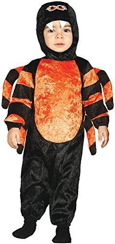 Fancy Me Baby Mädchen Jungen Spinne Tier Insekten Mini Biest Halloween Horror unheimlich süß Karneval Kostüm Kleid Outfit 6-24 Months - 12-24 Months (Baby Mini-me Kostüm)