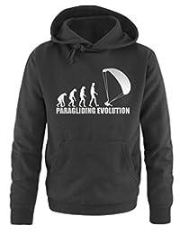 PARAGLIDING EVOLUTION -Herren Hoodie Gr. S bis XXL Vers. Farben