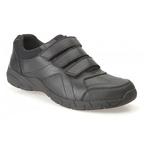 Clarks Air School chaussure de Suffolk BL - Boy en cuir noir