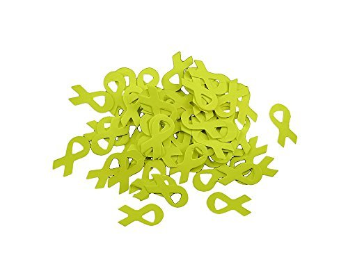 areness Confetti (500 Pieces) by Fundraising For A Cause (Green Awareness Ribbon)