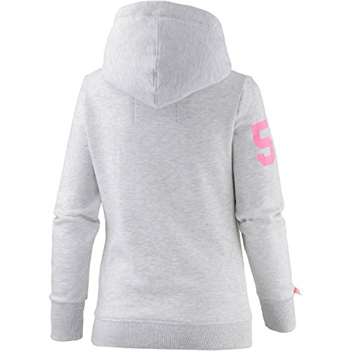 Superdry Sweater Women TRACK & FIELD Ice Marl hellgrau