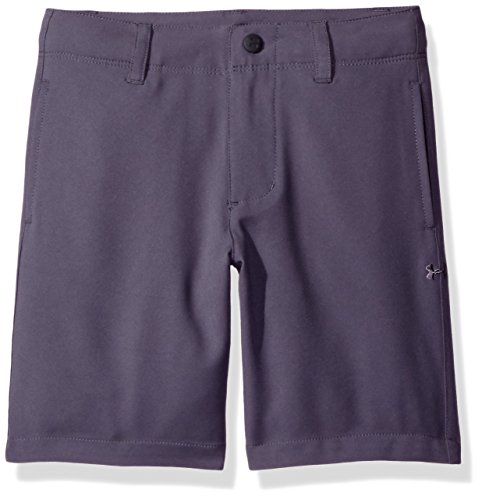 Under Armour Boys' Little Boys' Golf Medal Play Short, Graphite, 4T (Shorts Boys Golf)
