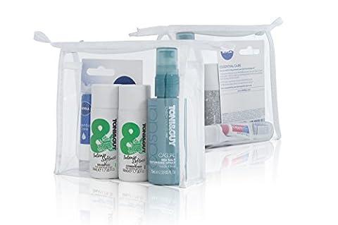 Tony & Guy Normal Hair Mini Shampoo, Conditioner, Lip & Dental Care Travel Bag Set