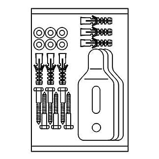 41THOeDt0SL. SS324  - Roca AV0017500R - Kit Tornillos Ganchos Urinario Mural Recambio - Colleción De Baño - Urinarios - Varias Series