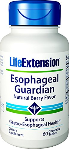 Esophageal Guardian, Natural Berry Flavor, 60 chewable tablets