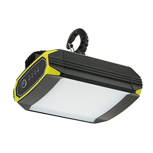 Lixada 500LM Camping Hänge Lampe/Mobile Power Bank Taschenlampe USB Port mit USB Eingang Ausgang, 9 Lichtmodi. (Taschenlampe Mit Usb-port)