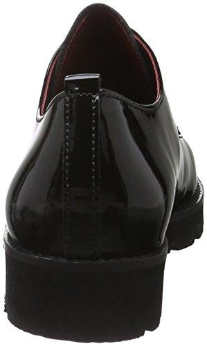 Gabor Comfort Sport, Derby Femme Noir (Schwfu Rot/S.S/S)