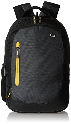 Gear Polyester 24 Ltrs Denim Grey Laptop Backpack (LBPECONO10412)