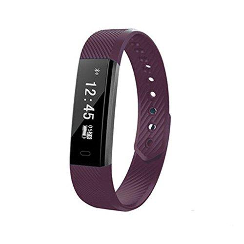 Fenghong Smart Armband Sport Armband Bluetooth Armband Multifunktionale Mode ID 115 HR Wasserdicht Anruf Erinnerung Nachricht Plüsch