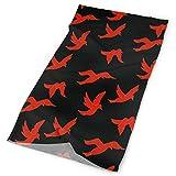 Women Men Outdoor Sports Bandana Headbands Red Hummingbird Multifunctional Magic...