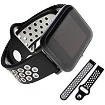 Jiamins - Correa de Silicona Universal para Reloj Inteligente Xiaomi Huami Amazfit Bip TICWATCH2 Gear Sport