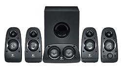 Logitech Z506 3D-Stereo-Lautsprecher (mit 5.1-Surround-Sound und 75Watt) schwarz