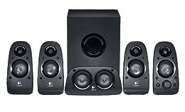 Logitech Z506 5.1channels 150W Negro conjunto de altavoces - Set de altavoces (5.1 canales, 150 W, Universal, Negro, 48 W, 8 W)