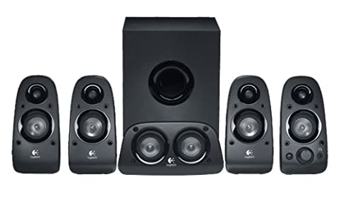 Logitech Z506 Surround Sound Speakers/Surround Sound System - Black