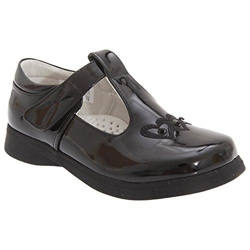Boulevard - Chaussures à sangle scratch - Fille Noir mat
