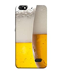 Fuson Designer Back Case Cover for Huawei Honor 4C :: Huawei G Play Mini (Juice Soda Glass Filled Drink Party Youths Pub)