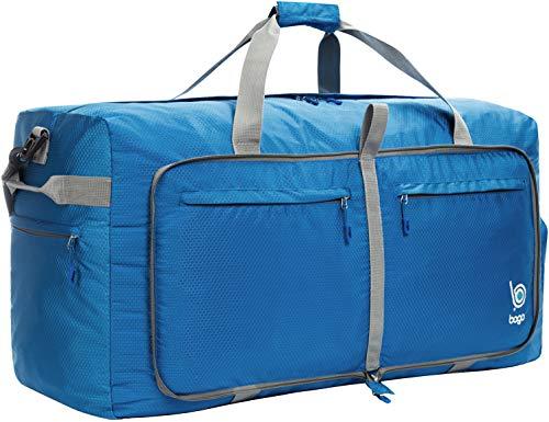 Bago Reisetasche Sporttasche für Männer und Frauen - 100L Duffle Bag mit schuhfach für Gepäck, Weekender, Travel, Gym, trainingstasche, saunatasche (Große Sport Duffle Bag)