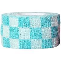 Arvin87Lyly Haustier Haftbandage Selbstklebend Elastisch Bandage Nicht gewebt Stoffe Haustiere Multifunktional Bandage mit Dekorativ Muster