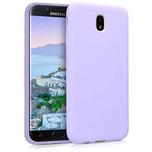 kwmobile Samsung Galaxy J7 (2017) DUOS Hülle - Handyhülle für Samsung Galaxy J7 (2017) DUOS - Handy Case in Lavendel