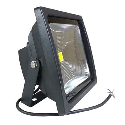 V-TAC LED Fluter Scheinwerfer Strahler 50W Weiß 6000K IP65 4500 Lm Ersetzt 400W Gehäuse Graphit von V-TAC - Lampenhans.de
