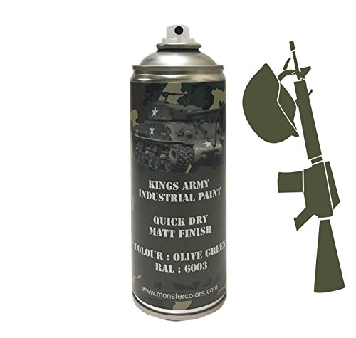 kings-army-olive-green-ral-6003-industrial-military-matt-spray-paint-400ml-military-vehicle-paint-ai