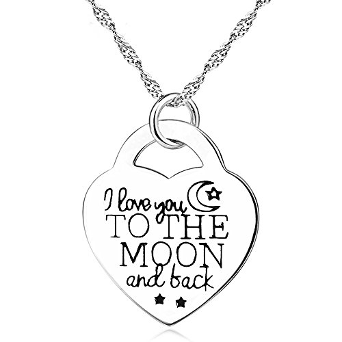 Sterling Silver Heart Necklace L...