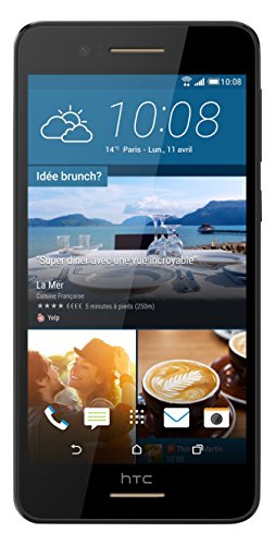HTC Desire 728 Smartphone entsperrt 4G (Display: 13,5 cm / 5,5 Zoll – 16 GB – einfache Nano-SIM – Android) (Htc Handy Entsperrt Android)