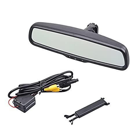Gzzsh 4.3 inch TFT LCD Car Rear view mirror Display