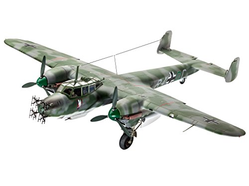 Revell Modellbausatz Flugzeug 1:48 - Dornier Do215 B-5 Nachtjäger im Maßstab 1:48, Level 4